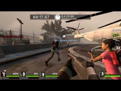 Left 4 Dead 2 Survival Con El Team WTF Zombiz Killarzz