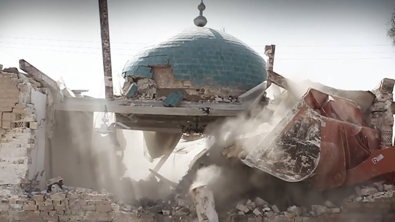 islamic state bombs ancient muslim shrines in iraq youtube