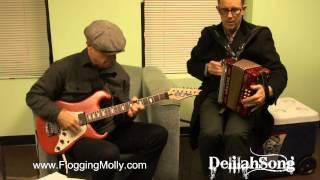 Dennis & Matt from Flogging Molly Jam #2 w/ Delilah Niagara Falls, NY