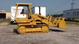 1974 Caterpillar 955L track loader. HURLEY AUCTIONS-Greencastle, PA 17225