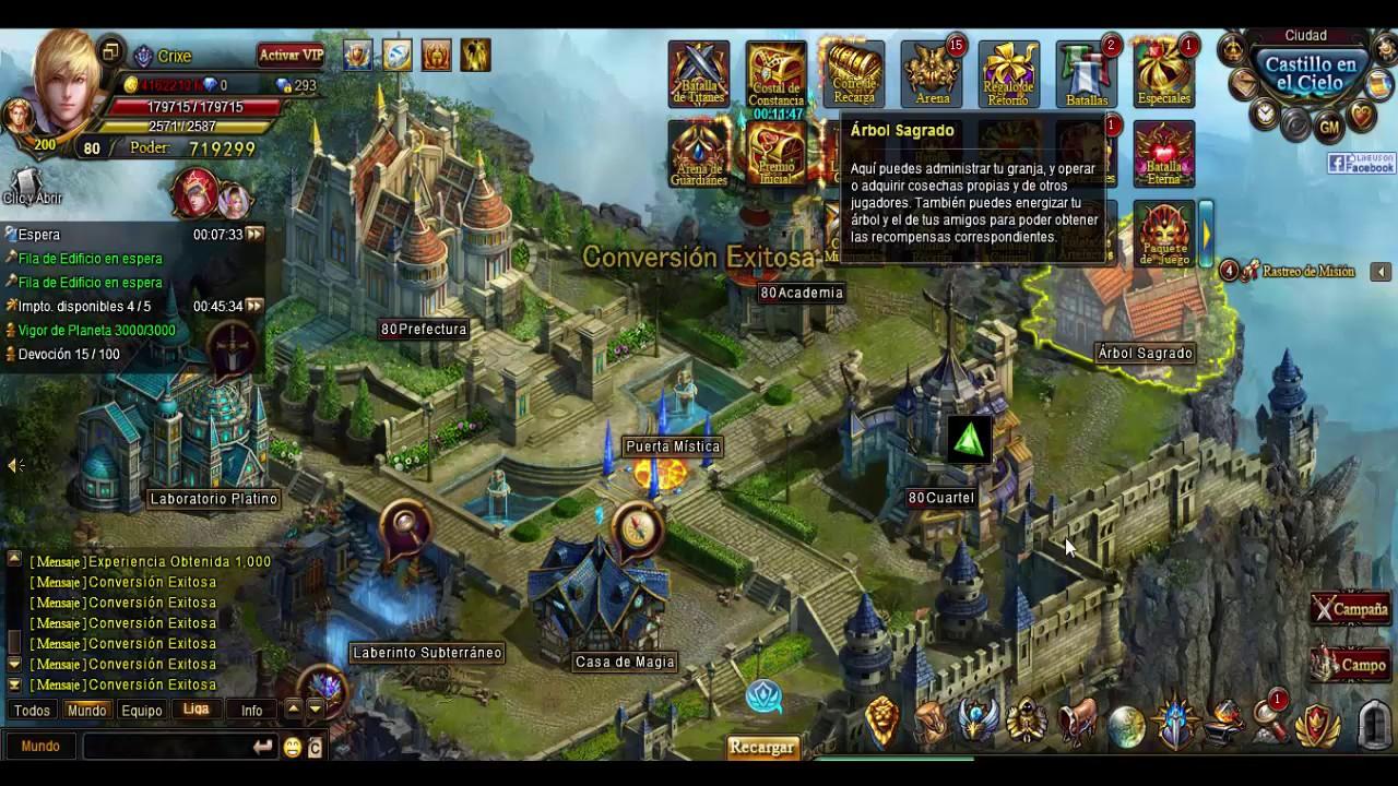 Arena Multijugador   Legend Online - Español [Oasis Games - Wartune Español  LOES - 7ROAD]