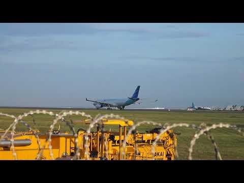 PLANE SPOTTING - I GUSTI NGURAH RAI AIRPORT BALI (SOUTH-WEST SIDE) [SPOTTER CUPUH]