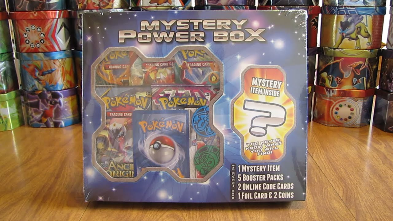 cd6008a3bf Pokemon Mystery Power Box Opening - YouTube
