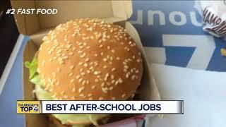 Thursday's Top 7: Best after-school jobs