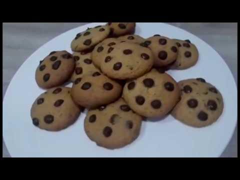 recette-cookies-aux-pépites-de-chocolat-|recipe-chocolate-chip-cookies-|كوكيز-مقرمش