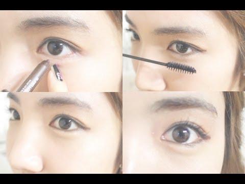 korean daily eye makeup tutorial  wishtrend  youtube