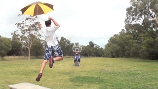 Trick Shot Battle   Brodie Smith vs. How Ridiculous thumbnail
