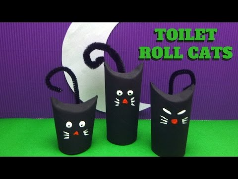halloween-craft---toilet-paper-roll-cat---toilet-paper-roll-crafts
