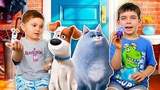 ТАЙНАЯ ЖИЗНЬ ДОМАШНИХ ЖИВОТНЫХ 2 Набора для лепки Собака Макс и кошка Хлоя
