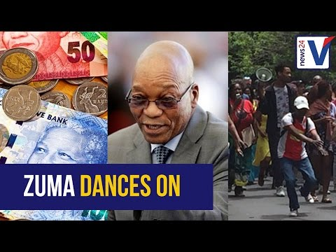 Here's what was happening in SA on the day Zuma danced in Kenya