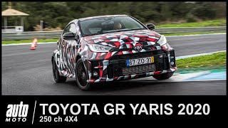 2020 Toyota GR YARIS 250 ch 4X4 Essai AUTO-MOTO.com