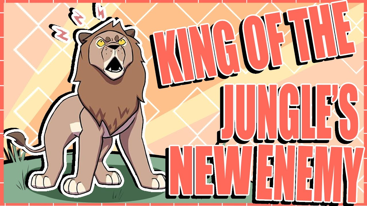 Lion King Of The Jungle's New Enemy! (Comedy Comic Dub) (Comic by Petfoolery)