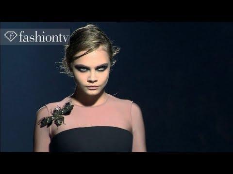 Lanvin Fall/Winter 2013-14 | Paris Fashion Week PFW | FashionTV