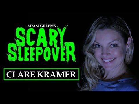 Adam Green's SCARY SLEEPOVER  Episode 2.11: Clare Kramer