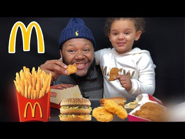 Mcdonalds Mukbang With Ariya Big Mac Eating Show