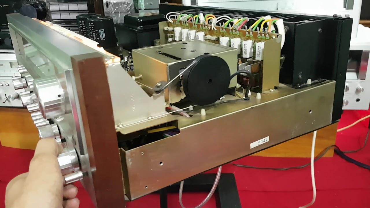 Test Pioneer SX 950 cho bác Trà Vinh nhiệt tình