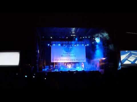 CONCIERTO -GRUPO ROJO-HUACHO-27/08/13 -CLUB TENNIS - 2 LATIN ROCK