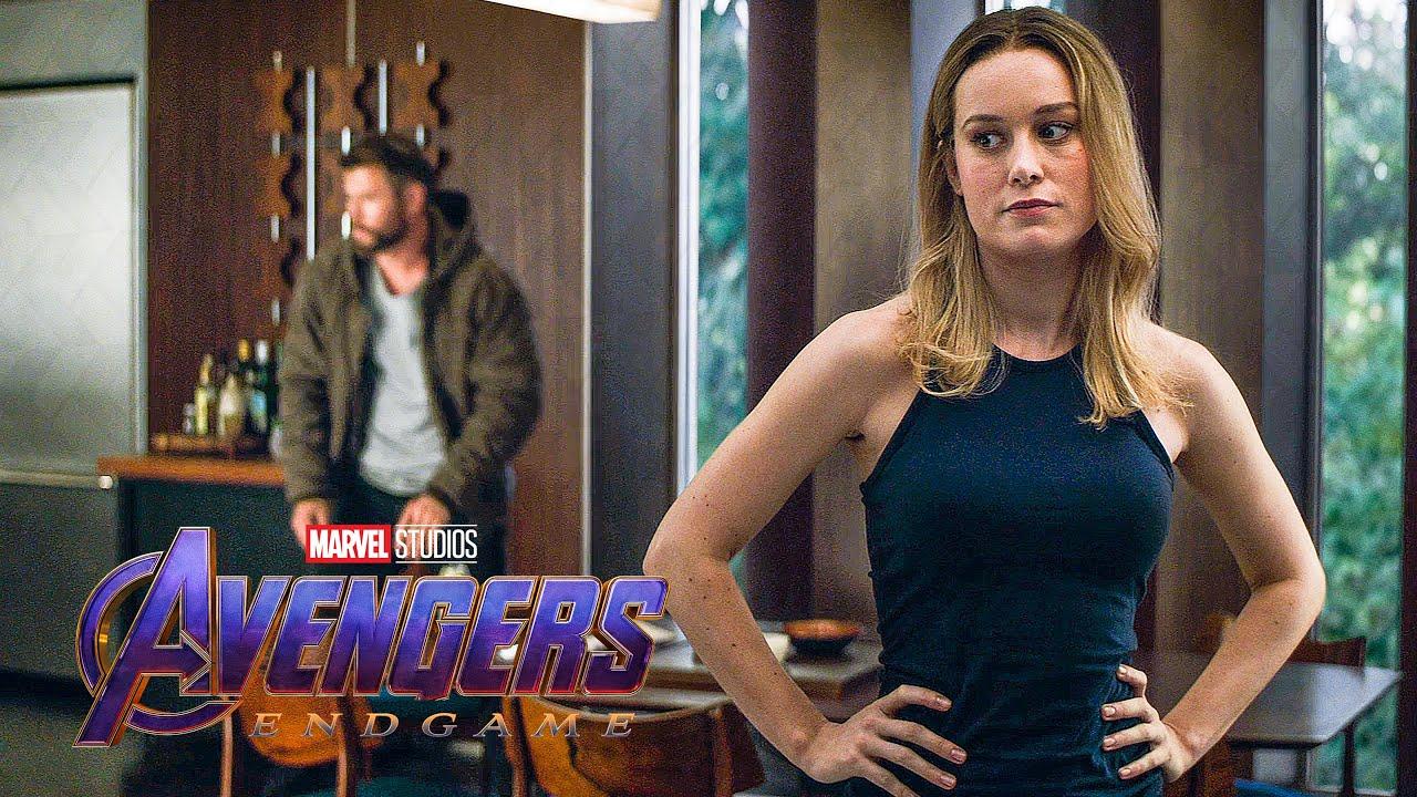 Download Avengers Meet Captain Marvel Scene - AVENGERS 4: ENDGAME (2019) Movie Clip
