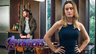 Avengers Meet Captain Marvel Scene - AVENGERS 4: ENDGAME (2019) Movie Clip thumbnail