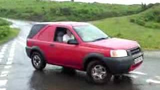 landrover freelander off road