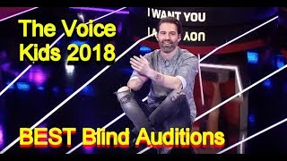 The Voice Kids 2018 - BEST Blind Auditions Of The Voice Kids 2018 - Part 1