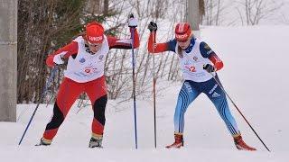 Лыжные гонки: в гостях у Кулаковой