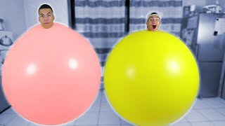 XXL BALLON CHALLENGE !!! | PrankBrosTV