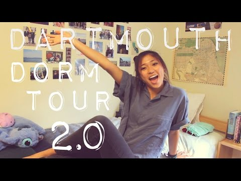DARTMOUTH DORM TOUR 2.0 | JustJoelle1