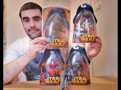Heti videó: 08# Star Wars Revenge of the Sith figurák részletesen 2.rész