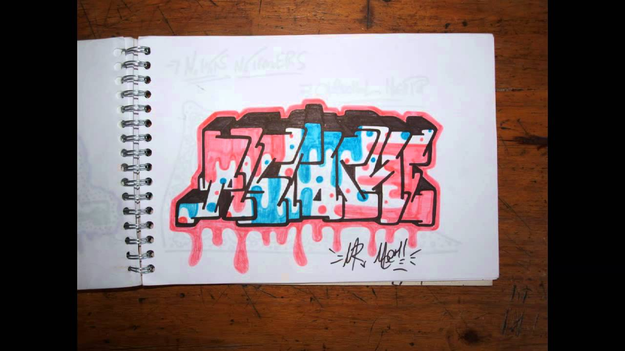 Graffiti blackbook 2 art sketches characters throw up letters bombing wildstyle how to wizard 2012 youtube