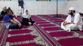 Shahada - Reversão ao Islam - Mesquita de Cuiabá