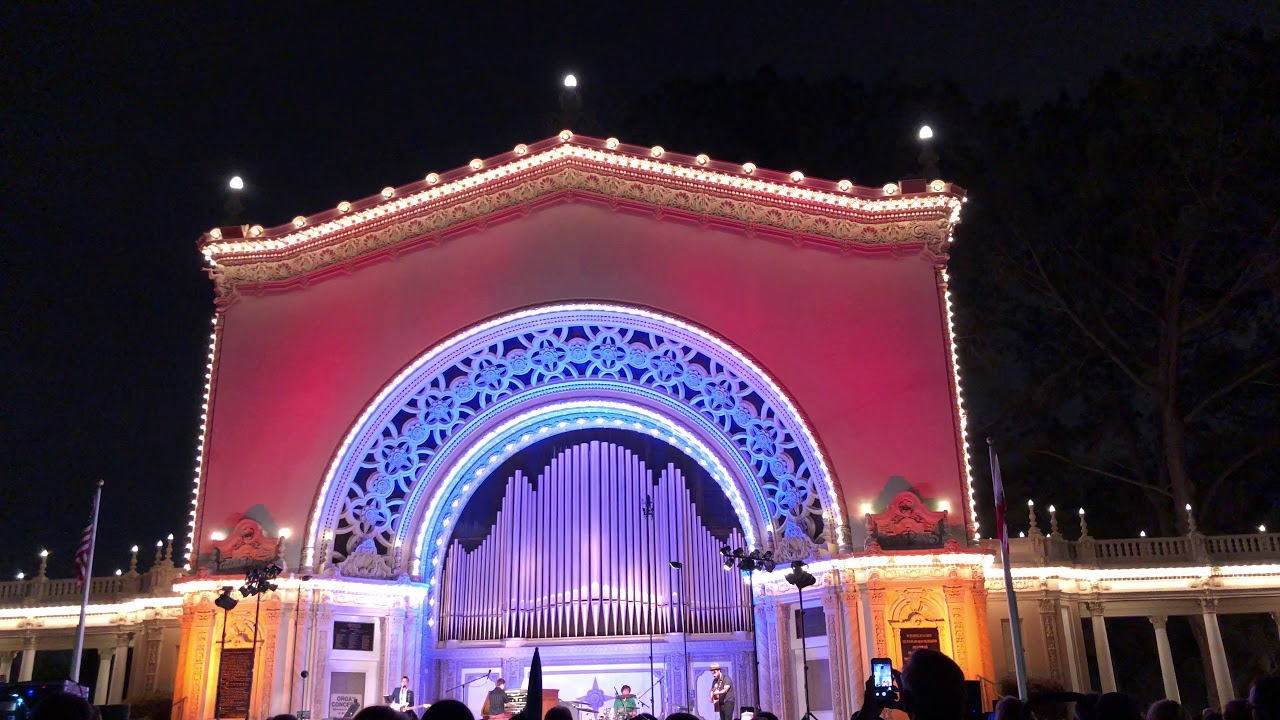 Spreckels Organ Pavilion concert tribute: Led Zeppelin - Your Time is Gonna Come