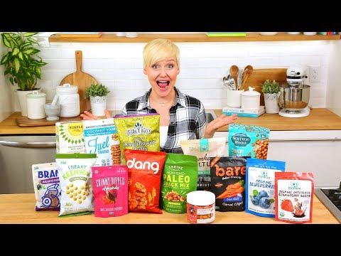 Healthy Snack Haul | The Domestic Geek