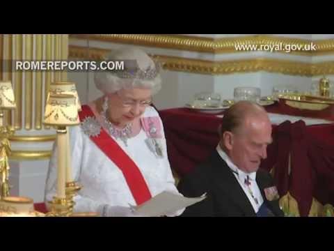 The Queen is in Rome!