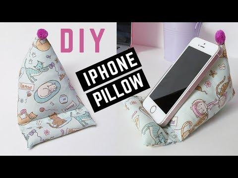 DIY Phone Pillow/Holder   Owlipop