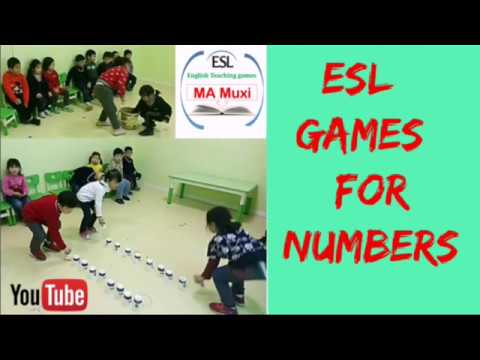 181 - ESL Game For Number   English Teaching Games By Muxi  