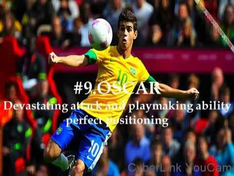 Top 10 footballers in Brazil World cup 2014