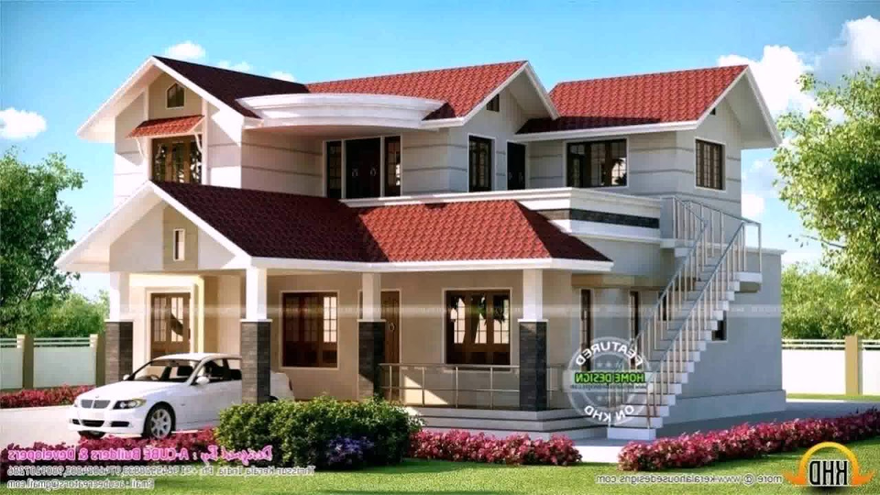 Outside Staircase Designs India | Home Design With Outside Stairs | 2 Story House | Single Floor | Unique | Second Floor | Exterior