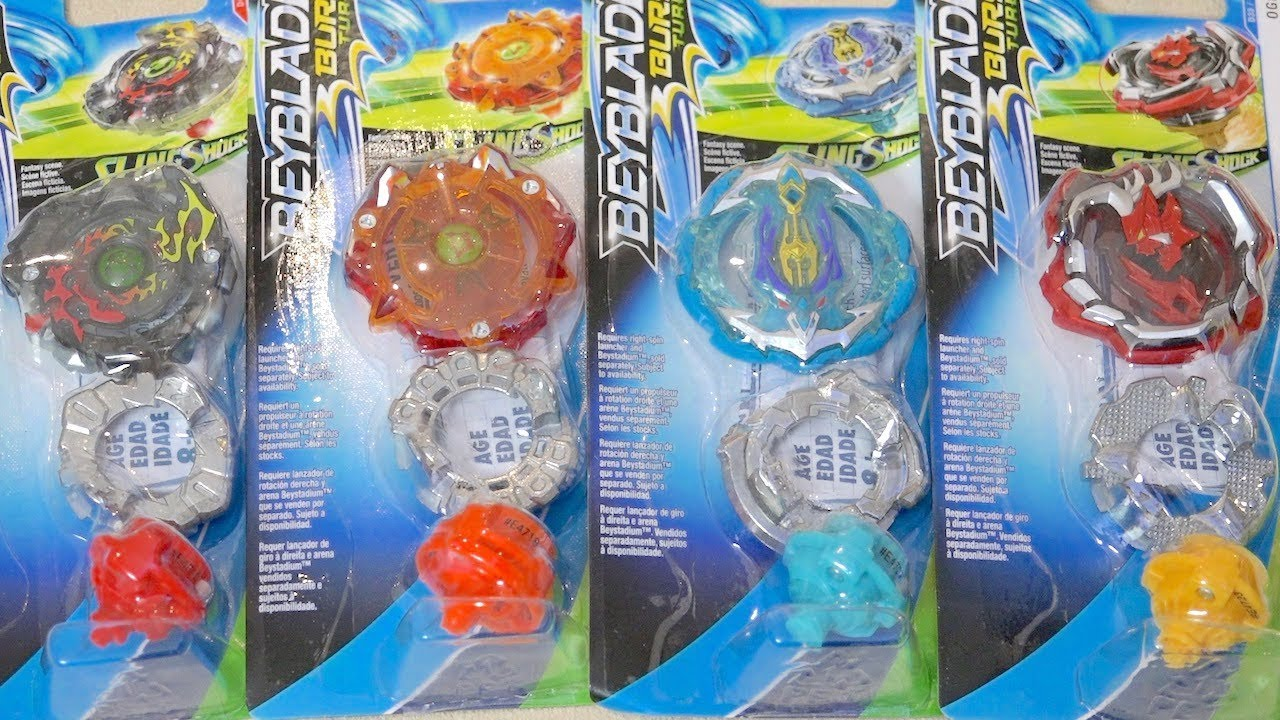 Hasbro EXCLUSIVE Beyblade Burst Turbo Slingshock Boosters Unboxing & Review!