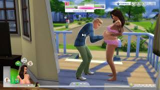 The Sims™ 4 xbox one whos baby is it?