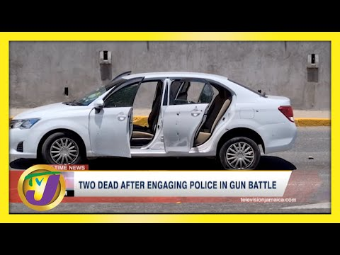 2 Dead After Gun Battle with Police in Kingston, Jamaica  | TVJ News