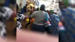 Black Friday Fight 2015: Walmart, Vegetable Steamer, Jordans, Food Court, Dog?
