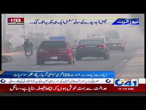 Today's Weather of Faisalabad