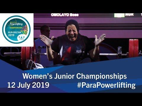 Women's 2019 Junior Championships