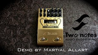 Two notes Le Crunch Pedal Preamp demo by martial allart