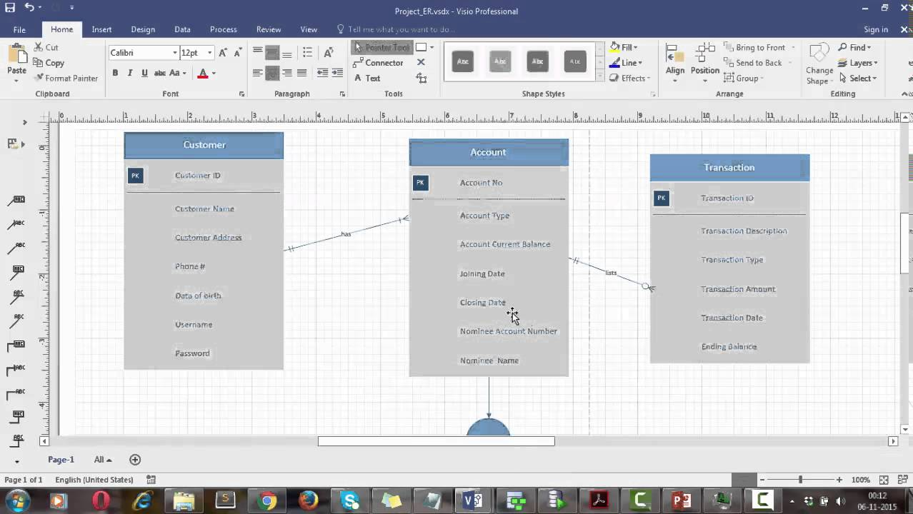 Creating Logical models using SQL Developer Data Modeler