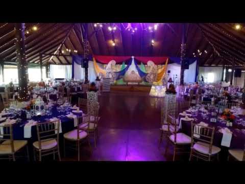 A S K decor - collisheen reception - indian weddings durban