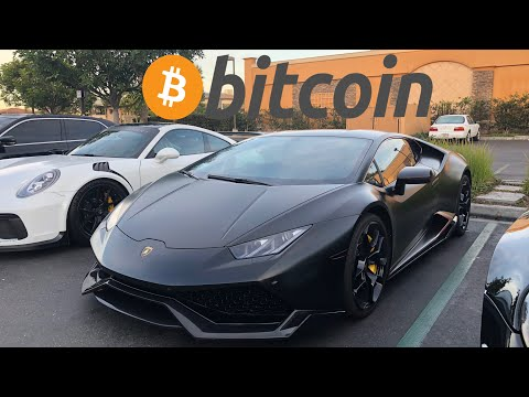 My Friend buys Lamborghini Huracan with Bitcoin!