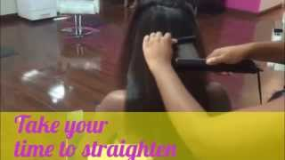 Synergi Hot Steam Treatment for long hair