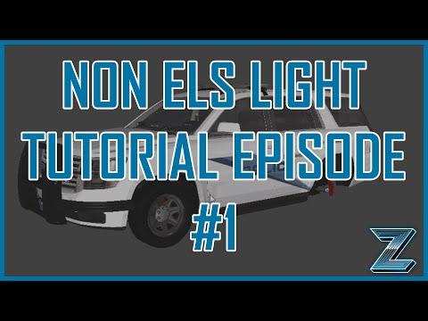[Episode 1] How to setup a lightbar as an extra | zModeler 3 Police Non ELS Tutorial